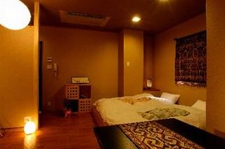 『花』山側デザインルーム:当宿唯一のアジアンテイスト現金特価