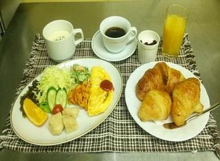 朝食付きプラン☆【洋食】