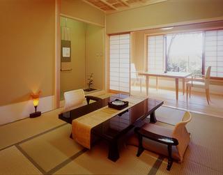 温泉内湯付客室(和室10帖+ダイニング)妙風の間 禁煙室