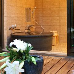当館いちおしの特別室◇桜の間◇半露天風呂付和洋室で1年を通して贅沢なひと時を