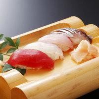 【旬彩プラン】握り寿司&天ぷら!もちろん鮑付き