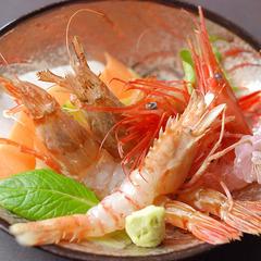 <浜坂の春旬を♪>ホタルイカ・モサエビ・とち餅・・・『 春のおすすめ!とってもお値打ちコース 』