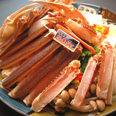 【 平日限定 de 冬得 】 カニのまち、浜坂の料理宿・芦屋荘で 『 松葉かに☆入門コース! 』