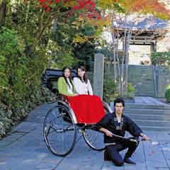【人力車×2食付】当館まで人力車がお出迎え♪レトロな乗り物で巡る古都鎌倉・散策プラン【お部屋食】