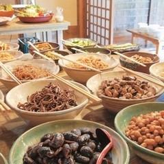 【品数少なめ夕食付】★気軽に湯治旅★和総菜ブッフェの朝食と川湯を堪能お気軽プラン