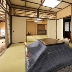 【ひのき内湯付離れ】和室10畳+12畳+土間
