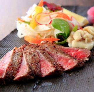 【白老牛はステーキで】極上の味を堪能!白老牛会席膳