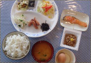 【朝食付き】地元食材を使った朝食付きプラン! 美味しい食事で元気な一日を!!!