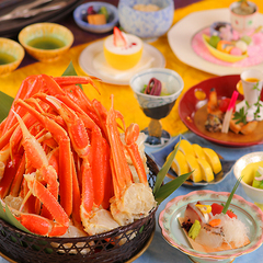 【販売数限定プラン】ホテル滝亭のあの人気プランが復活!◆60分間☆紅ズワイガニ食べ放題