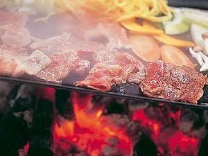 朝はゆっくりブランチバーベキュー付きプラン♪本格炭火全天候型BBQ場☆