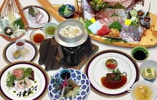 宿泊プラン 夕食(舞鶴御膳コース)朝食の2食付