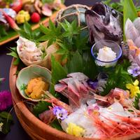 【黒部の舟盛り】お魚不足も解消◆毎日仕入れの新鮮地魚たっぷり!名水育ちの味を楽しんで【きときと富山】