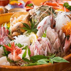 【黒部のきときと舟盛り】お魚不足も解消◆毎日仕入れの新鮮地魚たっぷり!名水育ちの味を楽しんで