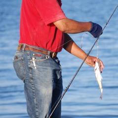 """【魚釣り体験】今夜のおかずにもう一品!釣ったお魚1匹無料調理★車で10分""""石田浜フィッシャリーナ"""""""