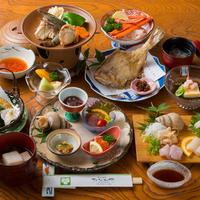 【立山アルペンルート】山に行く前に!美味しい魚介を食べ納め◆定番「旬菜」会席