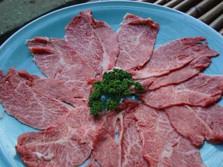 山形県産牛しゃぶしゃぶコース(会場食)