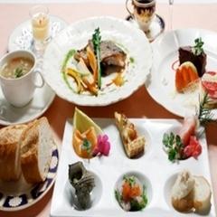 【朝食・夕食付】女子会におすすめ!レディースコース料理のプラン☆