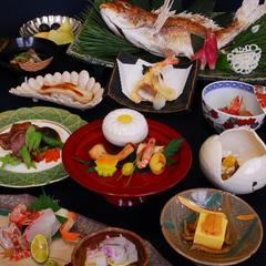 瀬戸内 天然鯛の浜焼きと特選広島牛の会席プラン