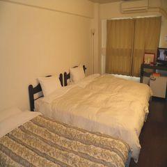 ツイン3名利用  -Triple bed room-