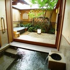 マイクロバブルで癒しの露天風呂♪貸切露天付き湯浴みプラン! 【ぎふ温泉満喫】