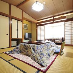那須高原の豊かな自然に囲まれた和室(10畳・8畳)