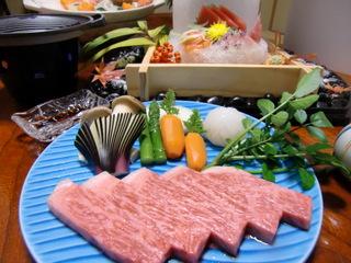 【一番人気!夕食お部屋】霜降りステーキ(100g) プラン