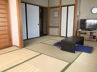 和室9畳201【洗面・ウォシュレットトイレ・冷蔵庫(空)】