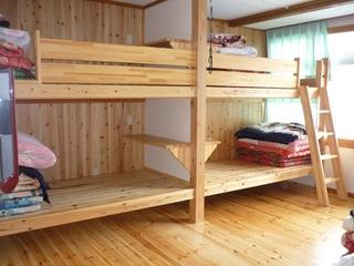大浴場リニューアル 2段ベッド10畳ルーム