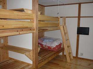 大浴場リニューアル 2段ベッドルーム