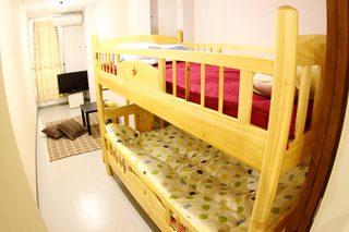 1名または2名 個室(2段ベッド)