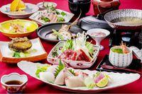 【シルバーコース】【1泊2食】季節の海の幸に鮑(あわび)の柔らか煮が付いたプラン