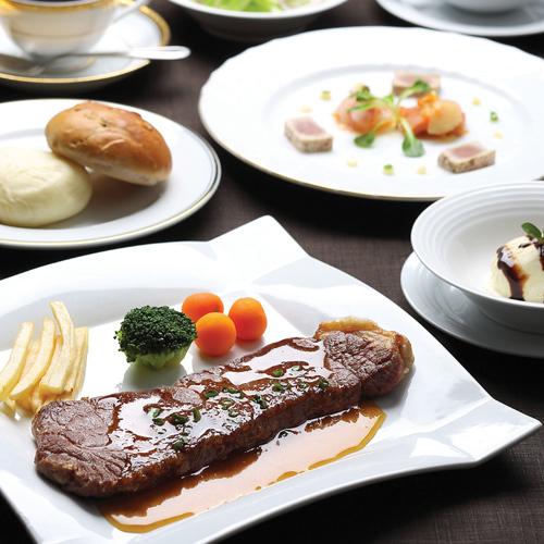 レストラン・ディナー『ステーキコース』付き宿泊プラン(夕食・朝食付きプラン)