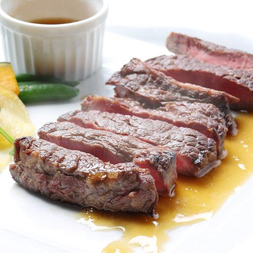 【甲府をたっぷり味わう】総料理長おすすめ☆甲州牛ステーキ☆特別フレンチディナー付プラン