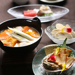 【休日は山梨へ・名物ほうとう!】山梨の美味いが満載☆甲州味覚会席付プラン