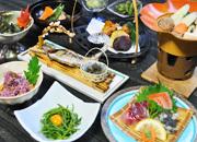 清津峡を満喫♪絶景露天風呂と地元の山菜を使った夕食でおもてなし(夕朝食付)