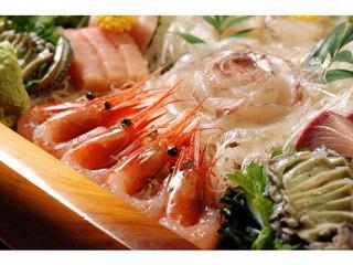 【旬魚食通プラン】◆冬の富山湾◆まるかじり!大漁舟盛り付きプラン♪