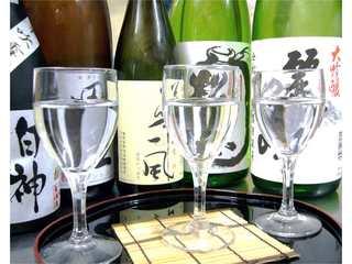 ☆銘酒三昧プラン☆お酒好きの方におすすめです!!☆