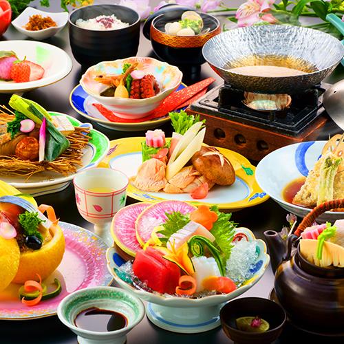 【祝2周年記念】迷ったらコレ♪ご夕食を当館王道の豊前会席にアップグレード★豊前会席