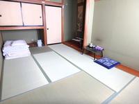 【 3F or 4F 限定 】   和室 素泊まり 10〜12畳  1〜2名部屋     駐車場無料