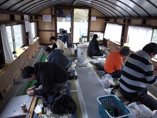 野尻湖 「ドーム船わかさぎ釣り」一泊二食付