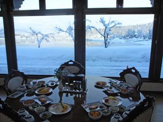 野尻湖 「ドーム船わかさぎ釣り」一泊朝食付