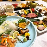 【匠会席】ウニやシャトーブリアンなど、料理長のこだわり食材を使用!美榛苑で食を堪能♪