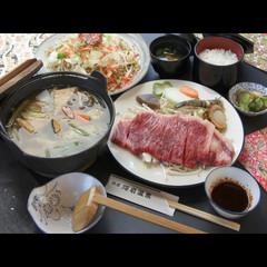 【溶岩焼き×ほうとう】W人気料理を味わえるアツアツ♪プラン[1泊2食付]