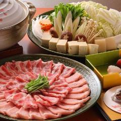 「当館人気№1」甘みある脂質とお肉のやわらかさに心もうっとり大阪泉佐野市の犬鳴ポーク豚しゃぶコース♪