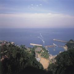 【鮮度抜群!!石鏡産海の幸】と海景色をひとりじめ、伊勢海老・旬魚満載船盛とあわびステーキを丸かじり!