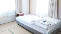 男性ベッド【4.5畳和室】バストイレなし□禁煙□WiFi無料