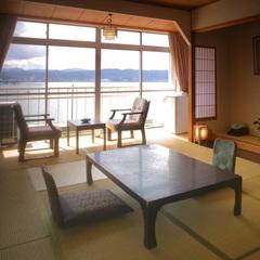 癒しの景色を満喫 宍道湖眺望の和室【Wi-Fi 完備】