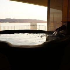【しまね★美肌スイッチ】宍道湖展望貸切露天風呂でお肌ツルツル!