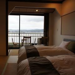 宍道湖眺望でリゾート気分♪和らぎツイン Wi-Fi完備