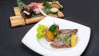 【特選プラン】富貴福禄!選べるプレミアム食材メイン料理「のど黒塩焼き」or「和牛ステーキ」